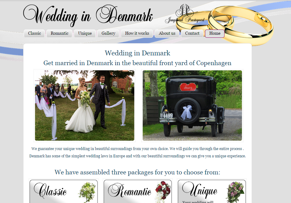 Folk fra hele verden skal holde bryllup på Sydsjælland