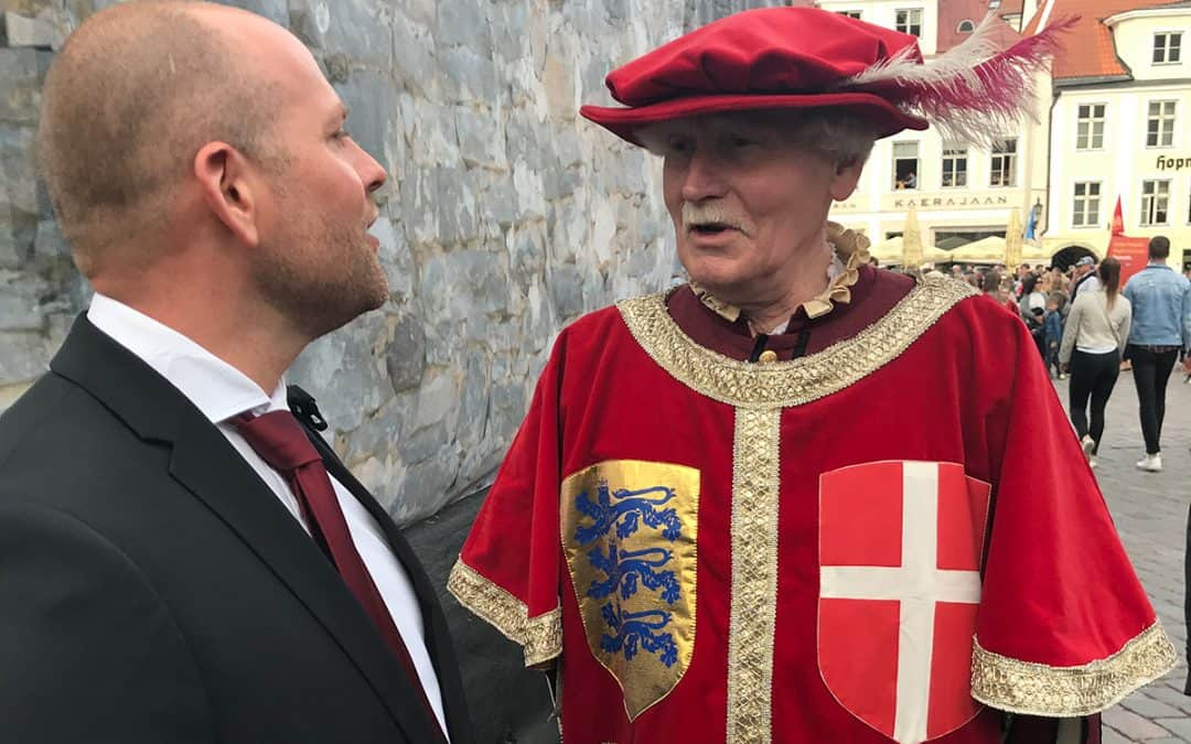 Historien om Dannebrog knytter Vordingborg og Tallinn tæt sammen