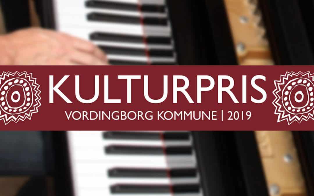 Den 17. januar 2020 uddeles der musikalske kulturpriser på Stars i Vordingborg
