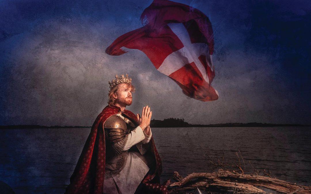 Myten om Dannebrog genoplives på Danmarks Borgcenter