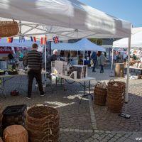 Marked i Algade i Vordingborg